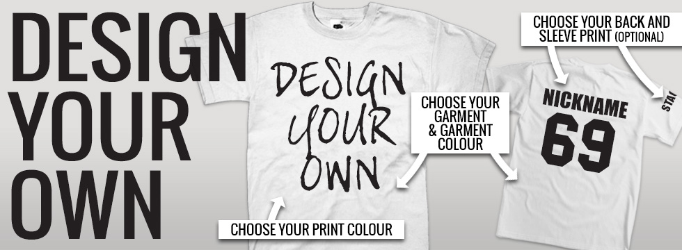 Stag T-Shirts – Design Your Own
